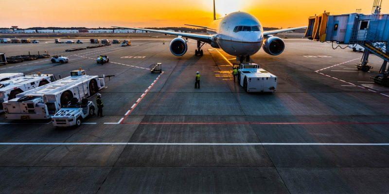 airport during coronavirus pandemic